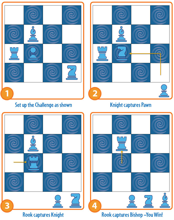Solitaire Chess How-To-Play Image