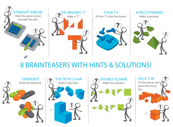 a-ha! Brainteaser Kit Instructions