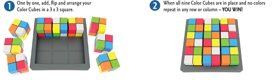 Color Cube Sudoku How-To Play